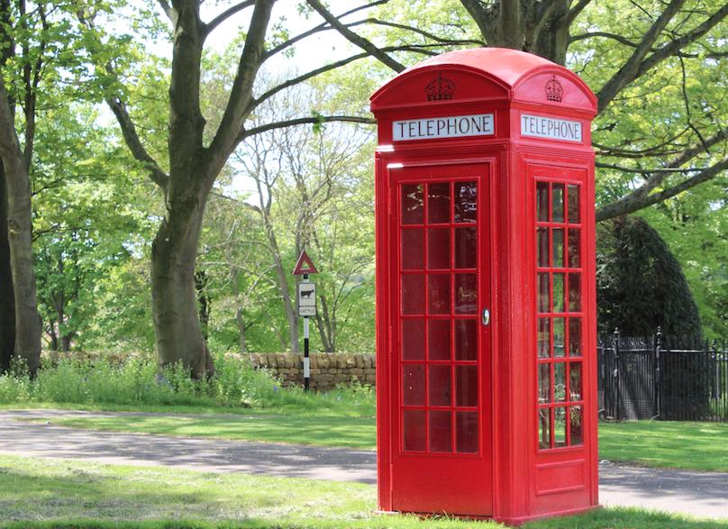 Red K2 Telephone box