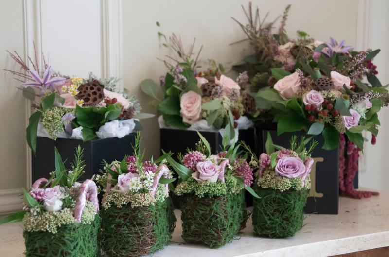 Flowers Bowcliffe Wedding Gemma Ben