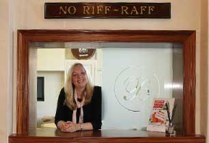 karen receptionist Bowcliffe Hall