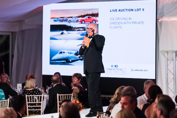 The Prince's Trust and Lexus Leeds 40th Anniversary Fashion Dinner - Picture date Thursday 17 November, 2016 (Bowcliffe Hall, Bramham, West Yorkshire) Photo credit should read: Jonathan Pow/jp@jonathanpow.com REF : POW_161117_234346