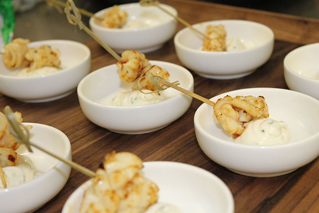 Canapes by John Topham