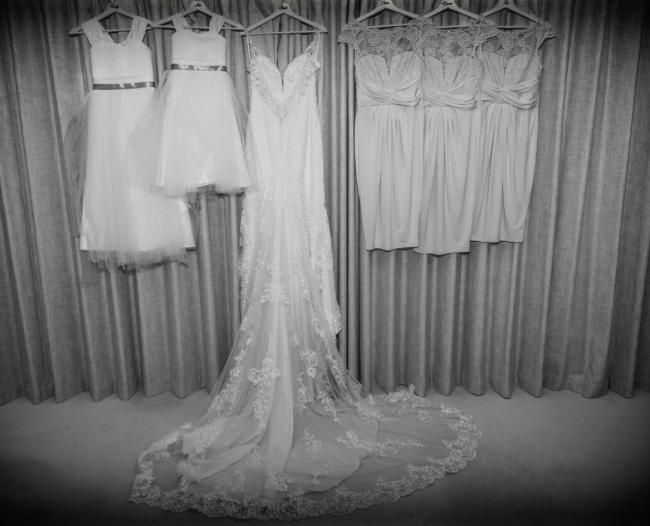 Wedding dresses bridesmaid dresses Bowcliffe hall