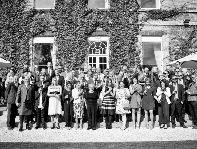 Kev-phil-wedding at bowcliffe hall