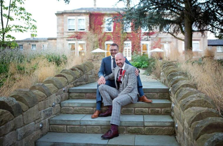 Phil and Kevin Wedding at Bowcliffe Hall Yorkshire